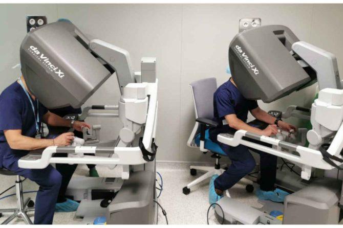 Intervenciones laparoscópicas asistidas por el Da Vinci